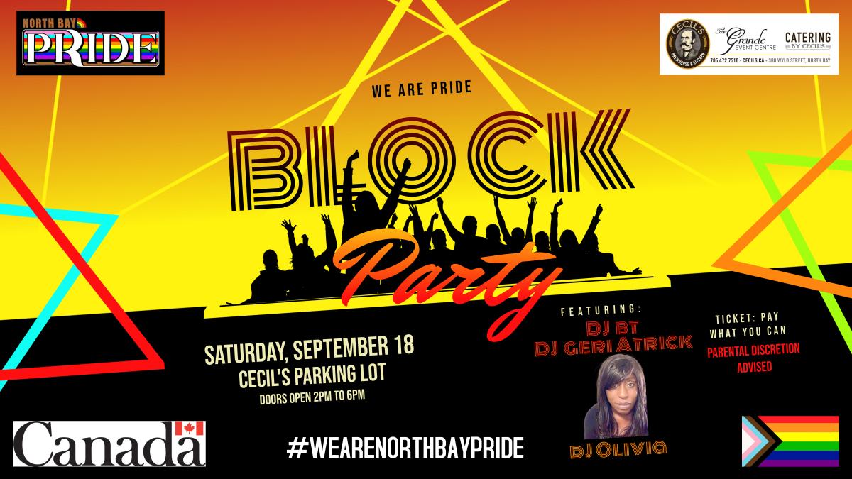 We Are Pride Block Party